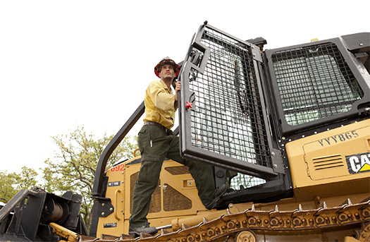 CAT DOZERS USED FOR FIGHTING FIRES > HOLTCAT
