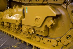 Undercarriage Service: HOLT CAT has the Capability and