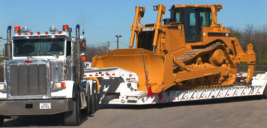 Holt Cat Equipment Hauling, Haul Trucking