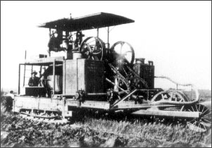 original caterpillar tractor, holt