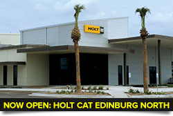 NOW OPEN - HOLT CAT Cleburne